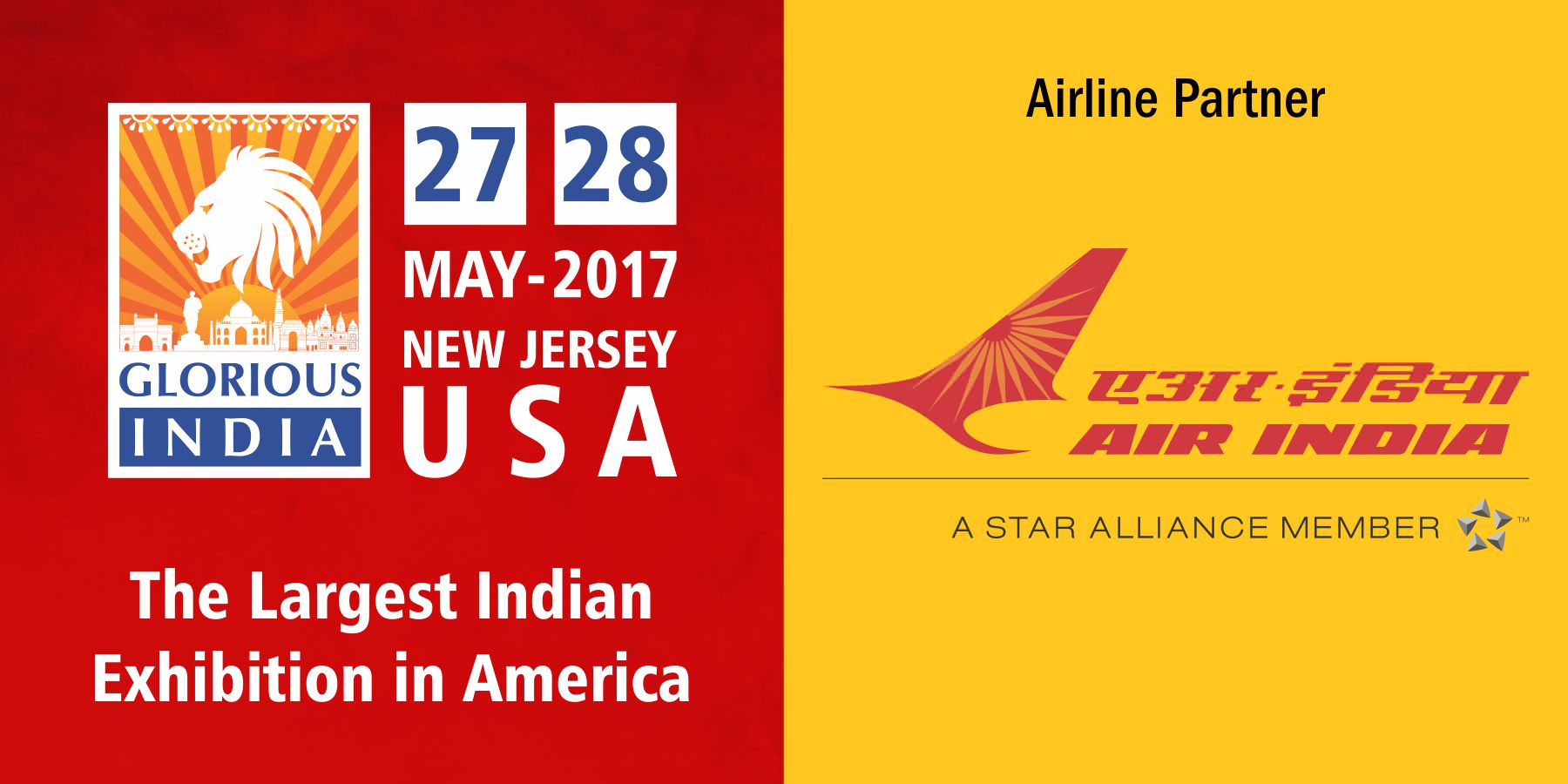 Glorious India Expo - Air India as the Airline Partner