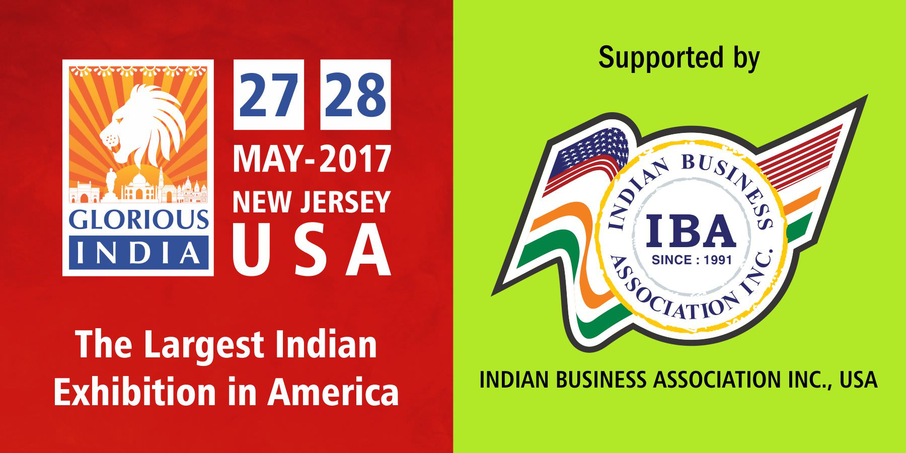 Glorious India Expo - Indian Business Association (IBA)