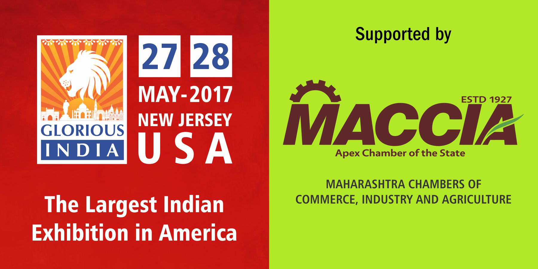 Glorious India Expo - Maharashtra Chambers of Commerce, Industry & Agriculture