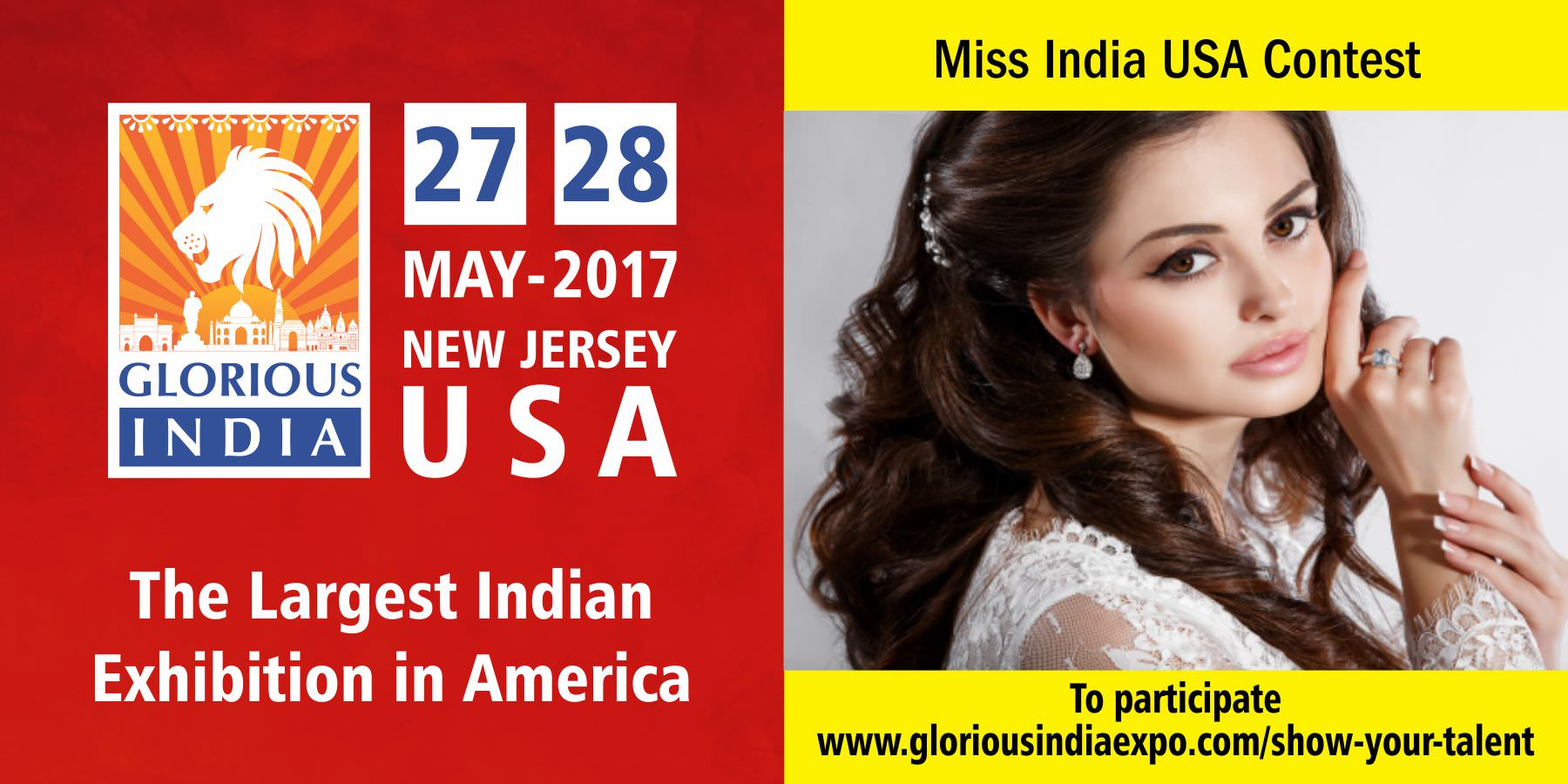 Glorious India Expo - Miss India USA Contest