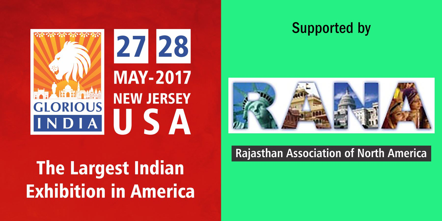 Glorious India Expo - Rajasthan Association of North America