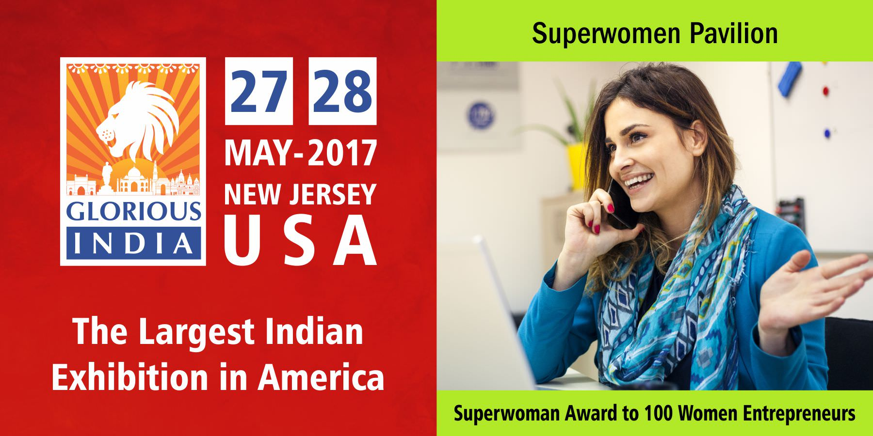 Glorious India Expo - Superwomen Pavilion