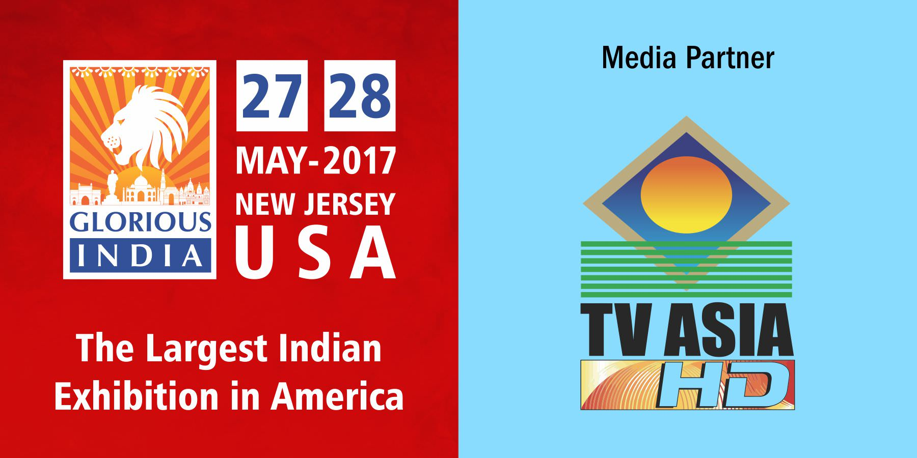 Glorious India Expo TV Asia as the Media Partner