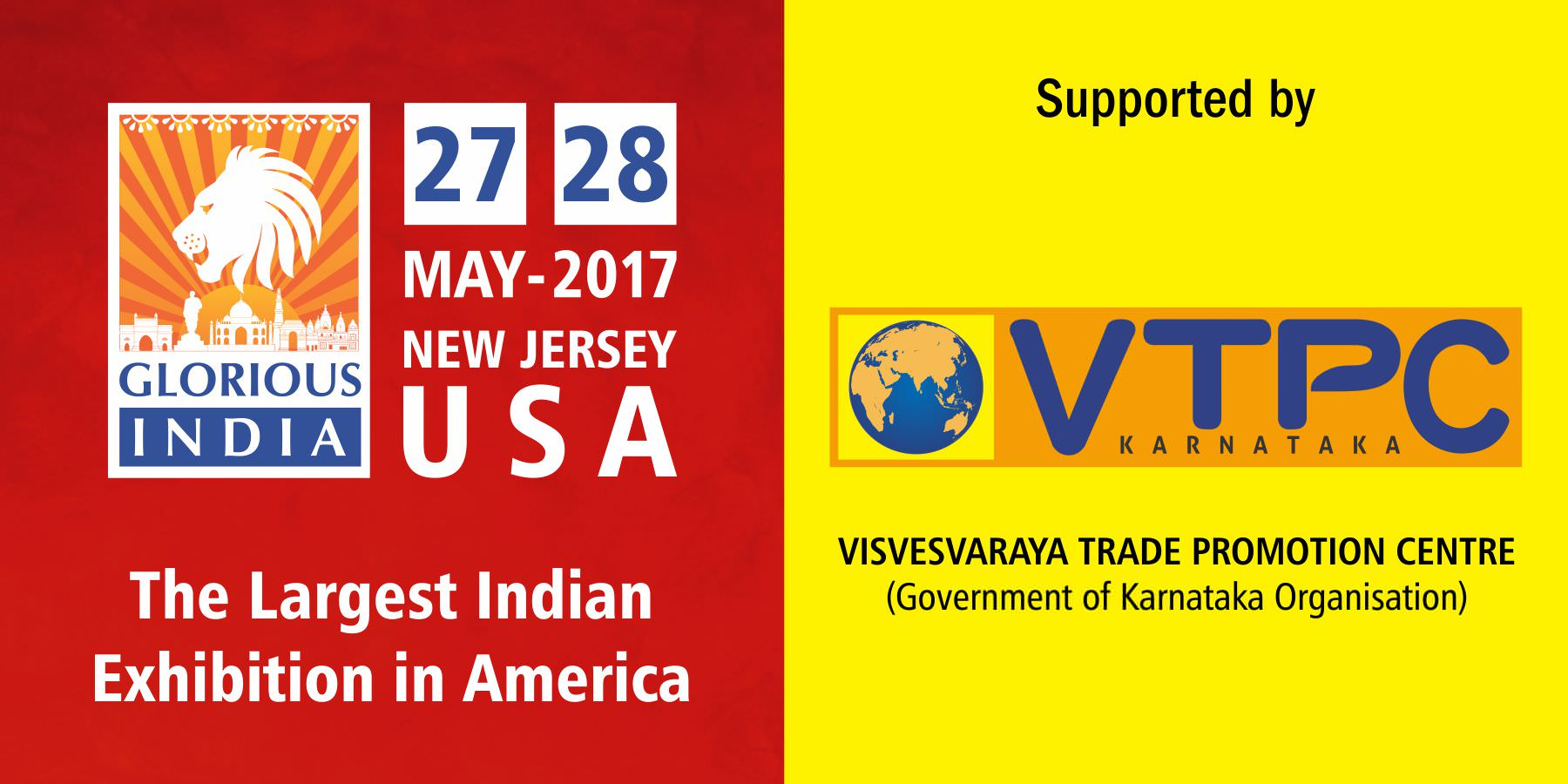 Glorious India Expo - Visvesvaraya Trade Promotion Centre (VTPC)