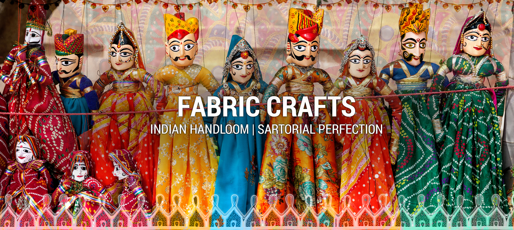Glorious India - Fabric Crafts